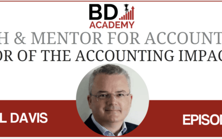 Podcast Interview – Blunt Advice for Accountants Wanting to Make a Difference