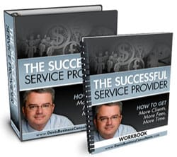 The Successful Service Provider book for Business Development from Business Mentor Paul of Davis Business Consultants